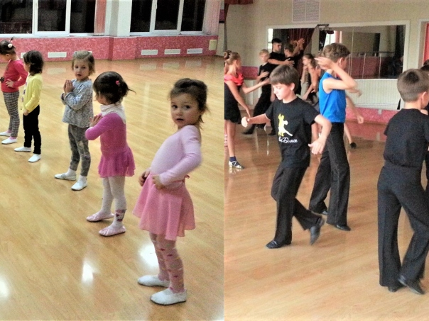 Деткам ну очень нравится танцевать!